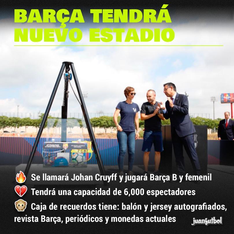Barcelona tendrá nuevo estadio