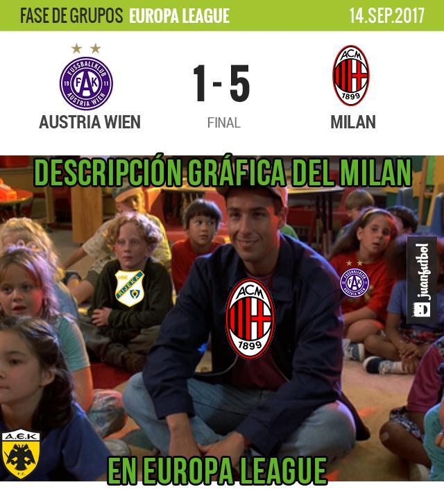 Milán sacó los tres puntos