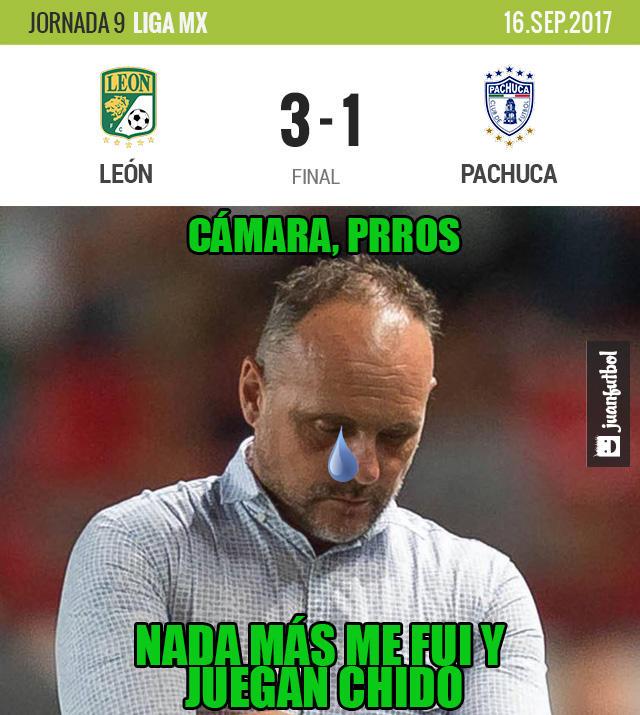 León ganó 3-1 a Pachuca