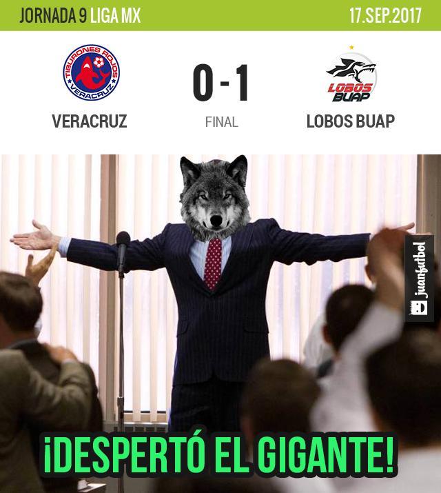 Lobos venció a Veracruz