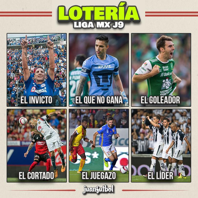 La lotería de la jornada 9