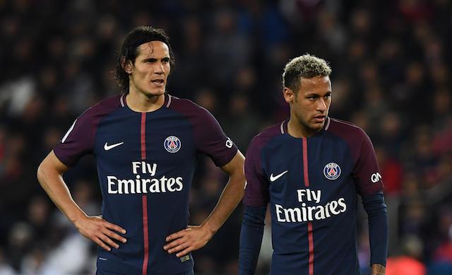 Cavani y Neymar.