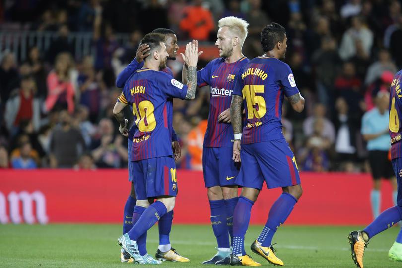 Barcelona ganó y goleó