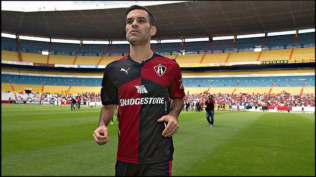 Rafa Márquez espera poder jugar pronto.