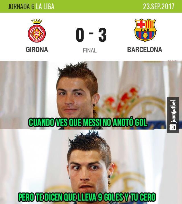 Barca goleó al Girona