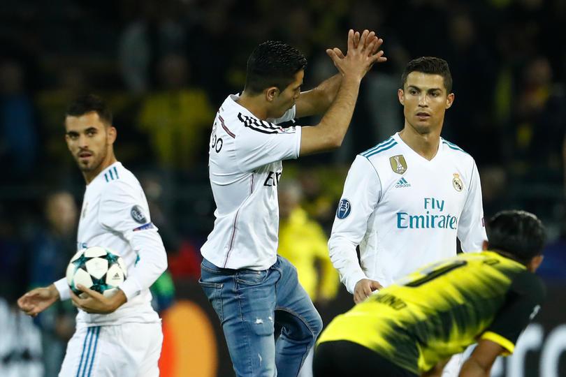 Cristiano Ronaldo tras el juego vs Dortmund