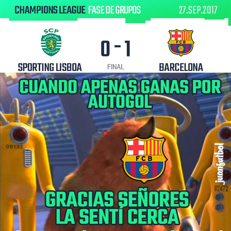 Sporting vs Barça