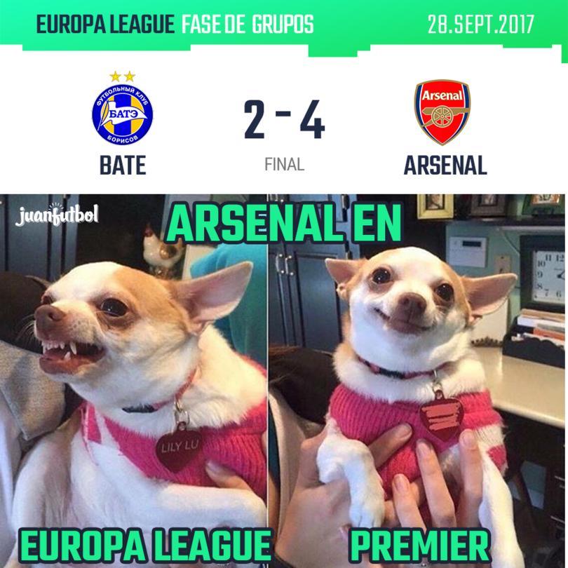 Arsenal ganó al Bate