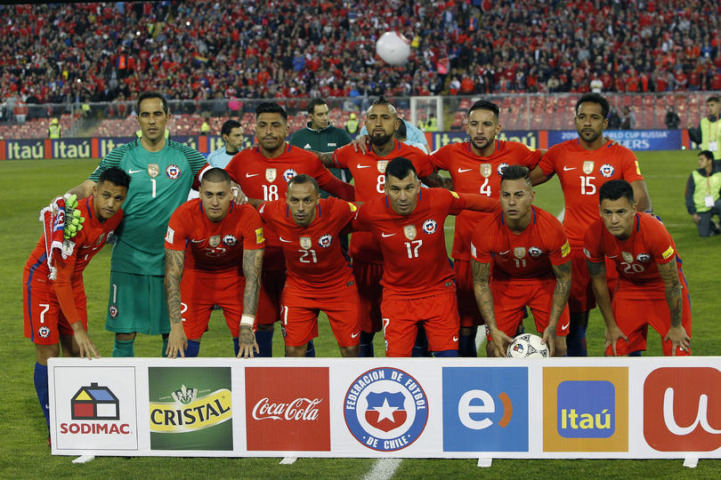 Chile no convocó a Nico Castillo