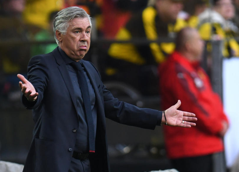 Ancelotti podría ir al West Ham