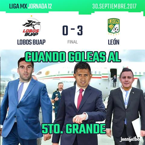 Lobos BUAP vs León