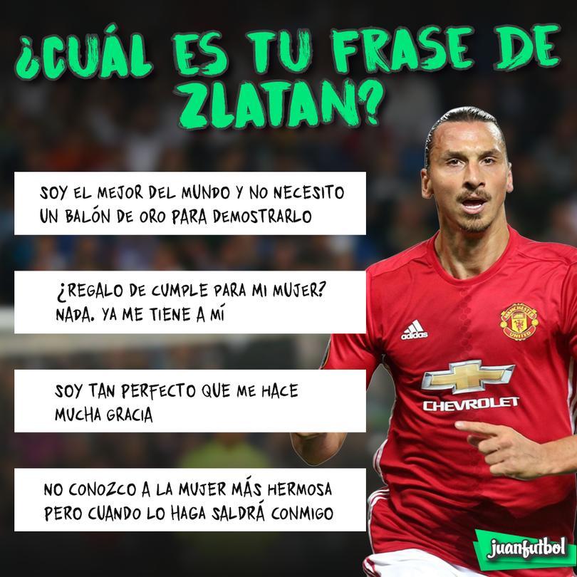 Las mejores frases de Zlatan.