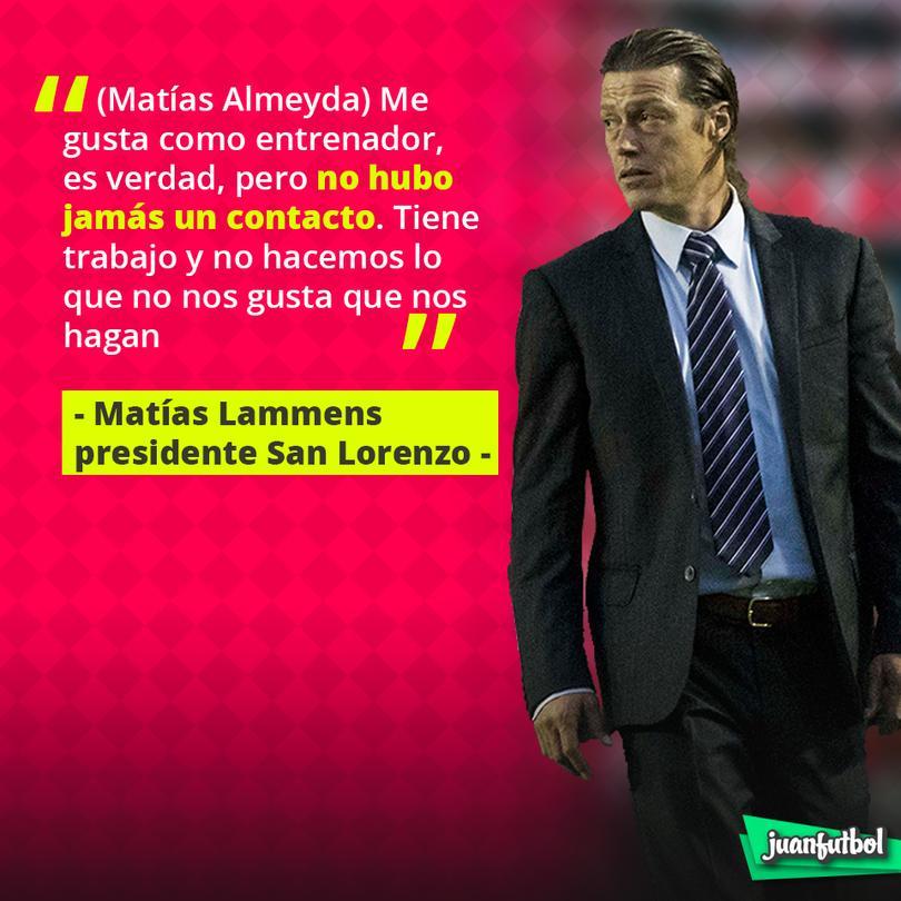 Almeyda no se va a San Lorenzo