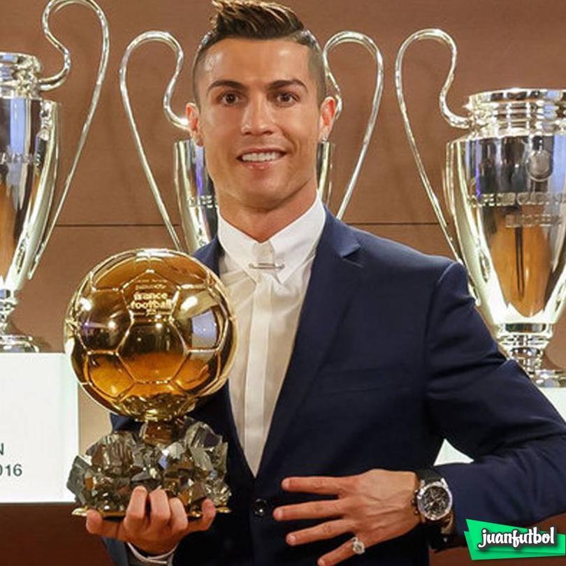 Balón de CR7 recauda 600mil Euros