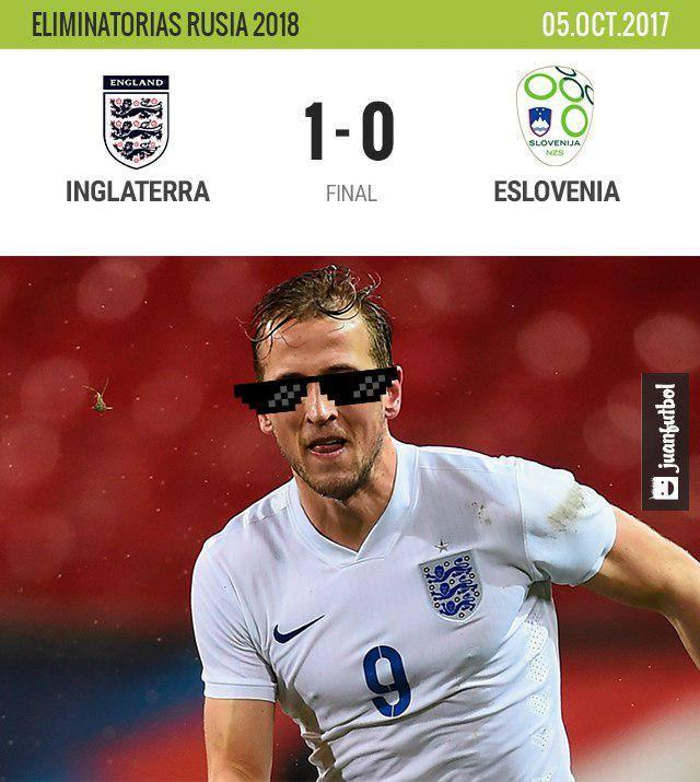 Inglaterra vs Eslovenia
