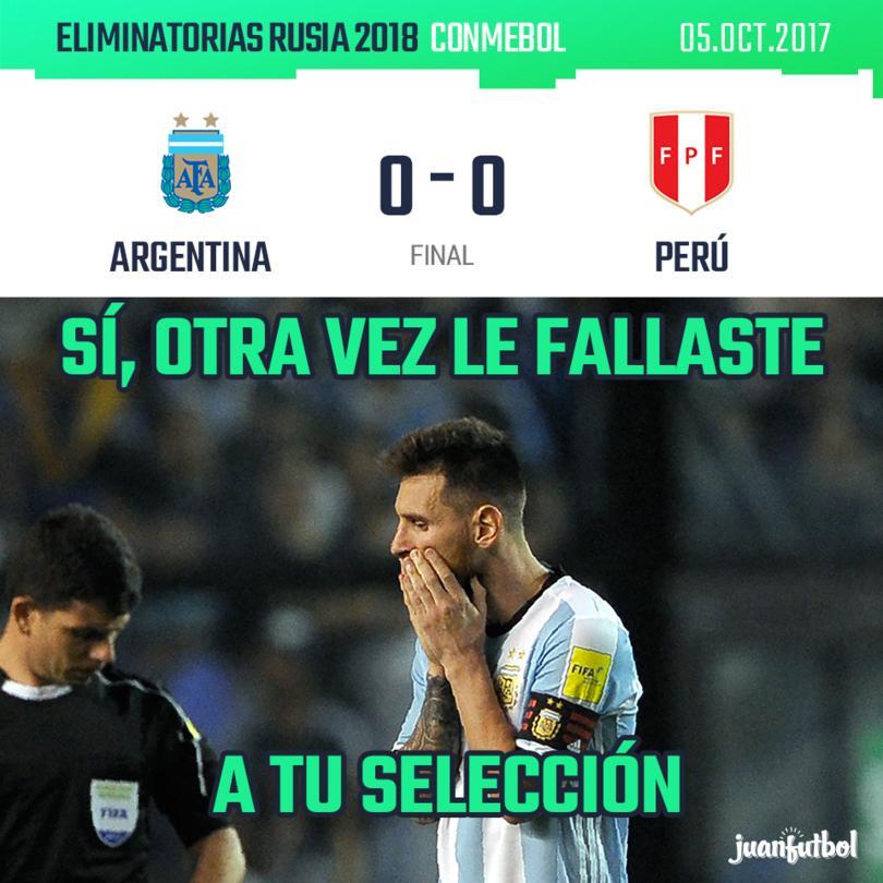Argentina empata