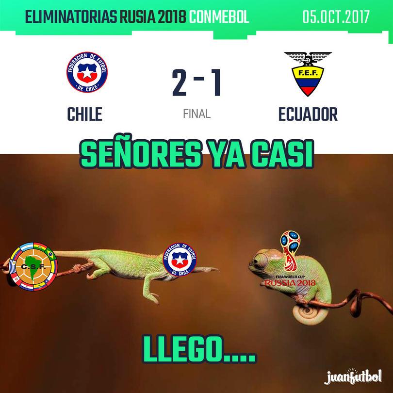 Crónica de Chile-Ecuador
