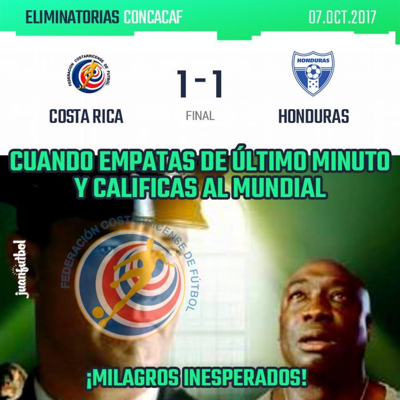 Costa Rica está en el Mundial