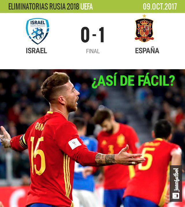 Final Israel-España