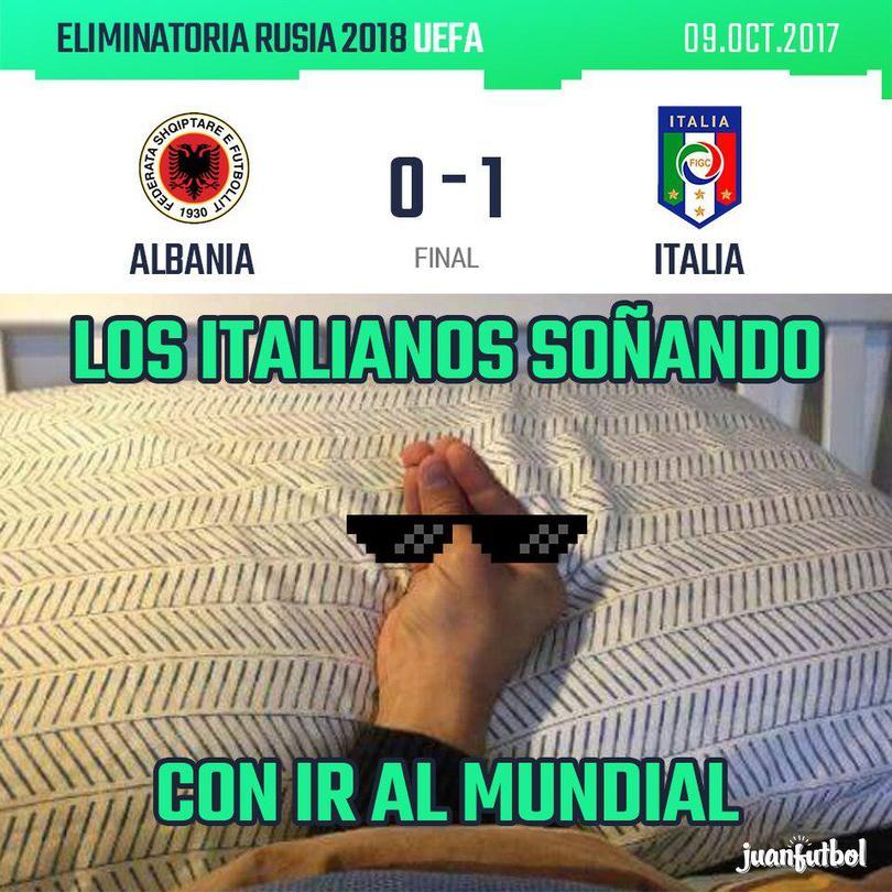 Resultado clasificatoria Rusia 2018 Albania-Italia