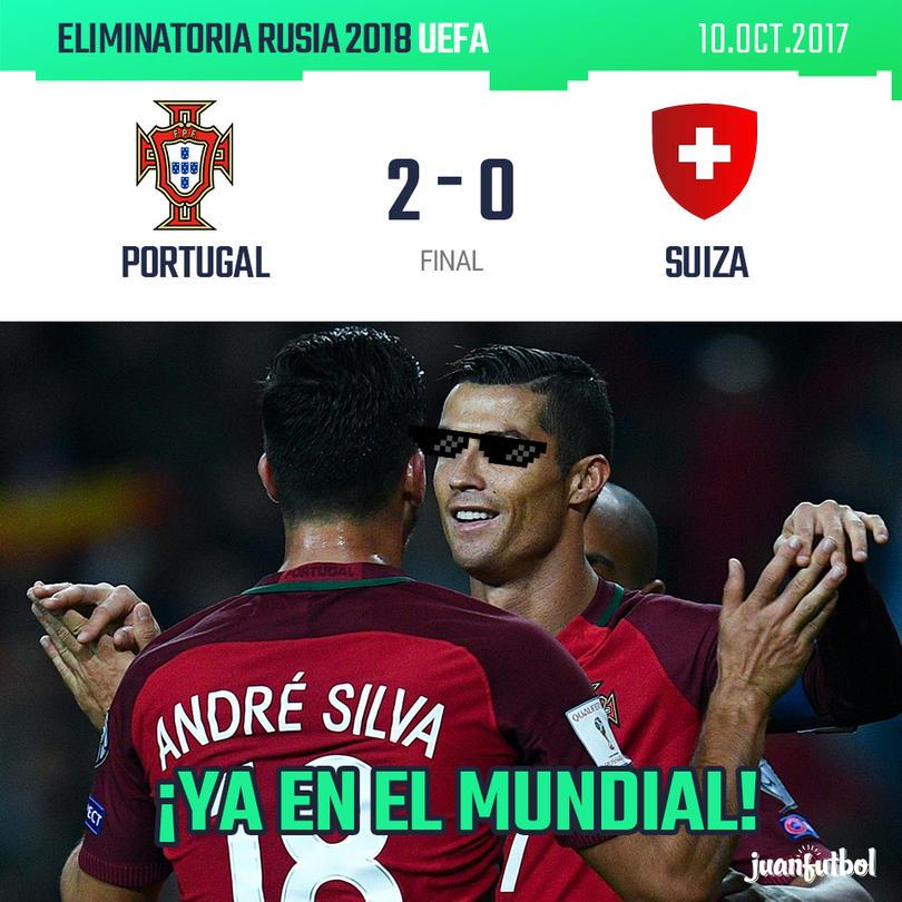 Portugal ya está en el Mundial de Rusia 2018.