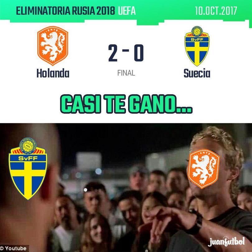 Holanda se queda sin Mundial.