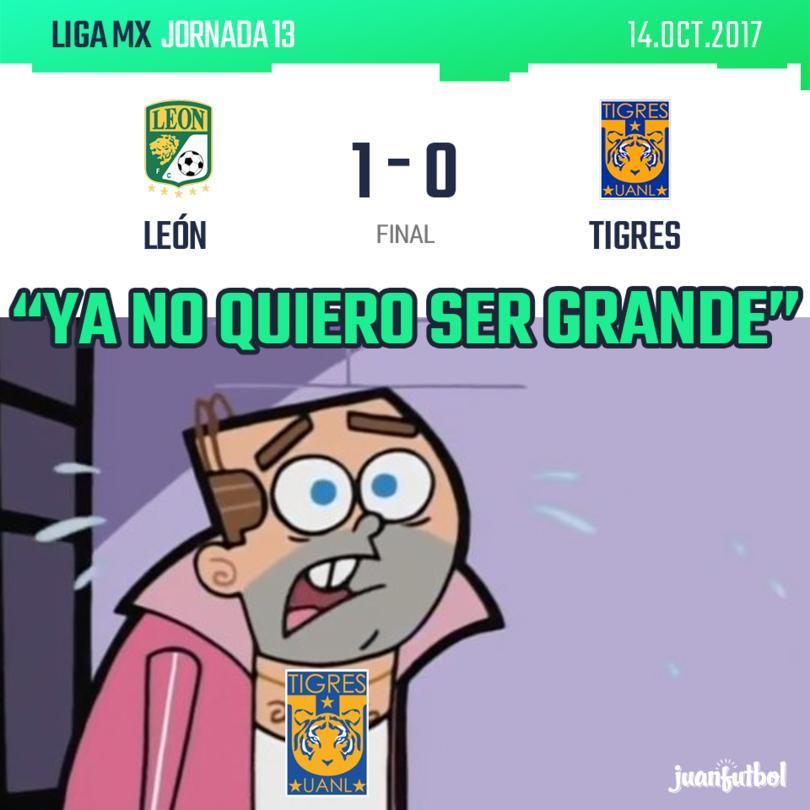 Tigres cae ante León.