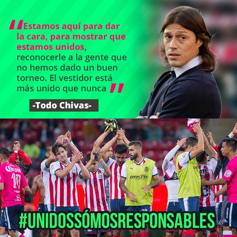 Mensaje de Chivas a su afición
