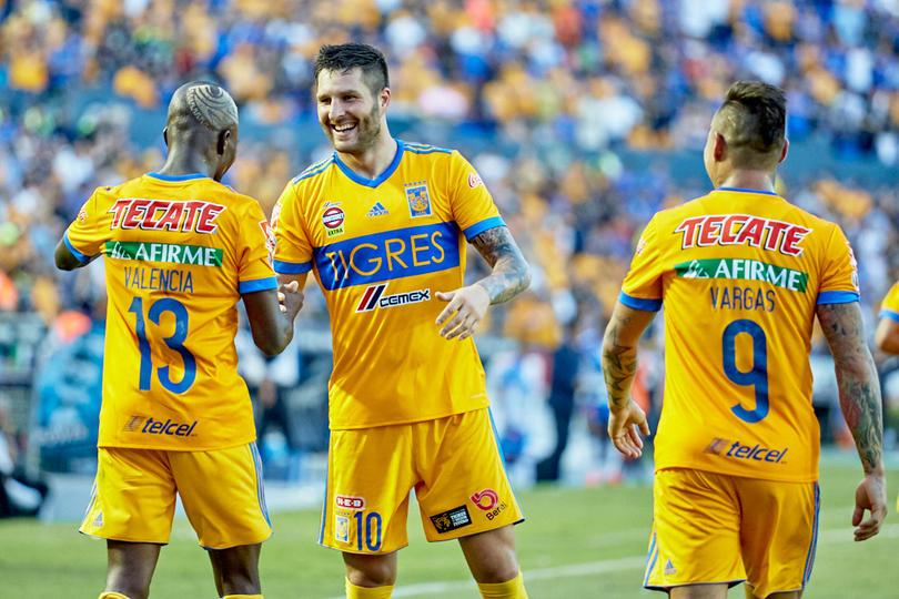 Tigres el mejor equipo mexicano al momento...