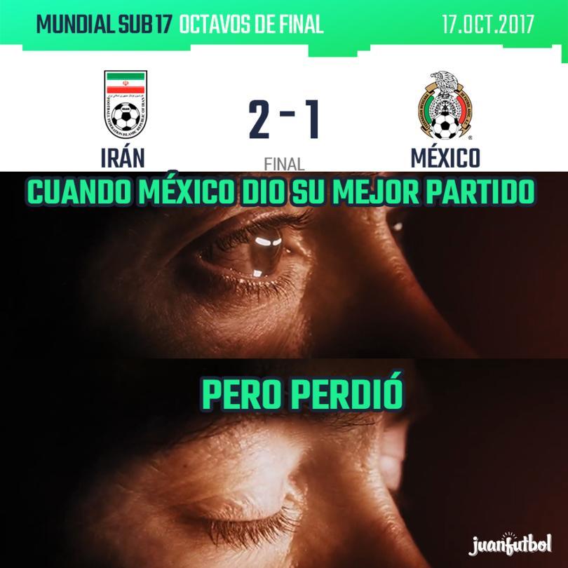México perdió contra Irán