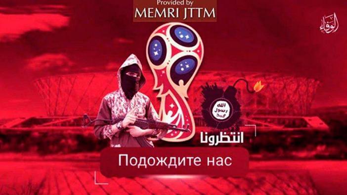Amenza terrorista contra Rusia 2018.