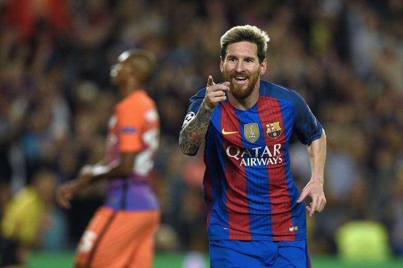 Messi cuenta un chiste sobre él mismo