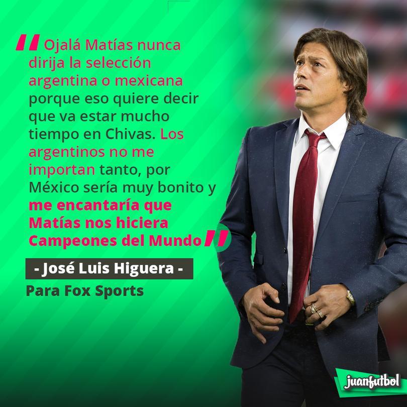 'Matías nos haría campeones del Mundo':  Tío Higuera