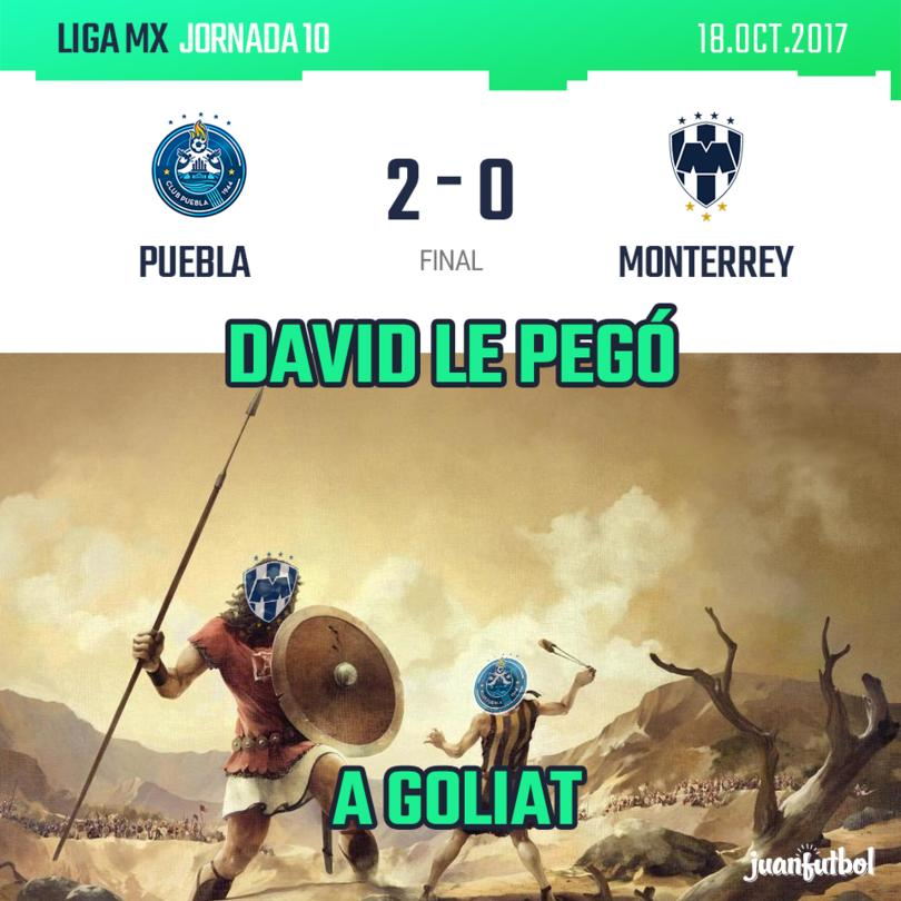 Puebla le ganó al Monterrey
