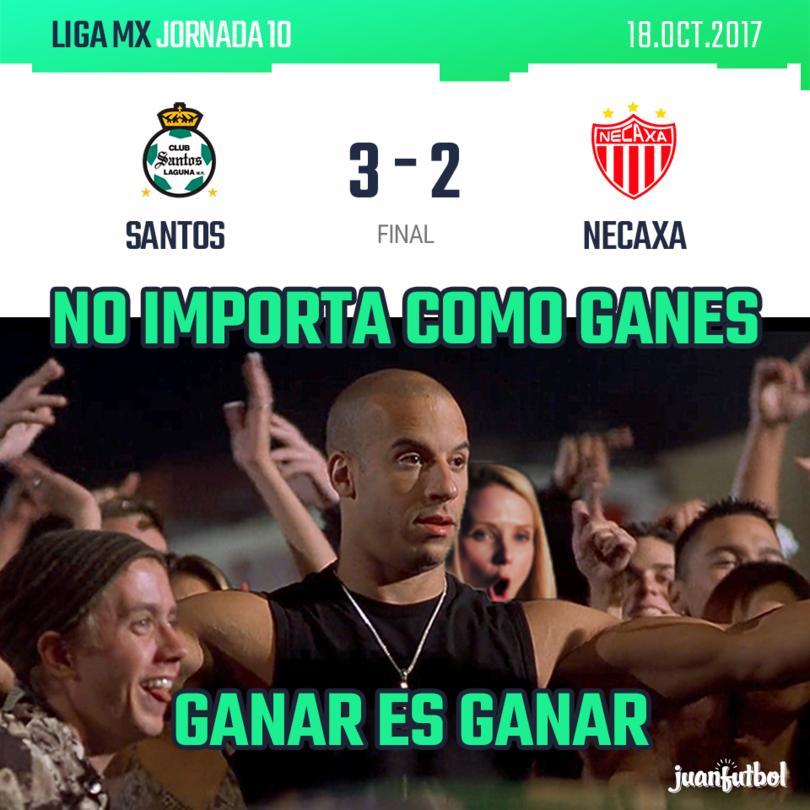 Resultado Santos vs Necaxa