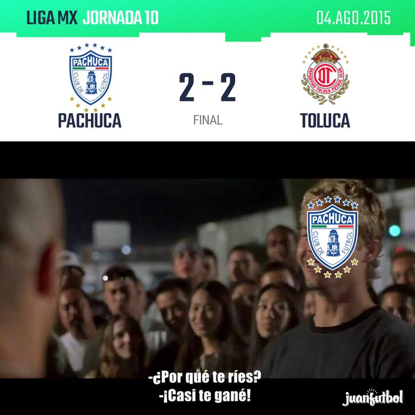 Resultado Pachuca vs Toluca