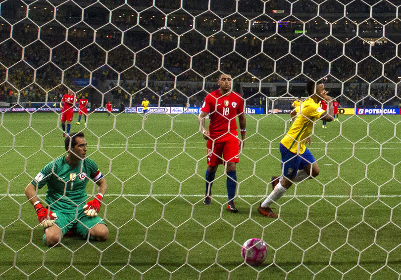 Chile contra Brasil