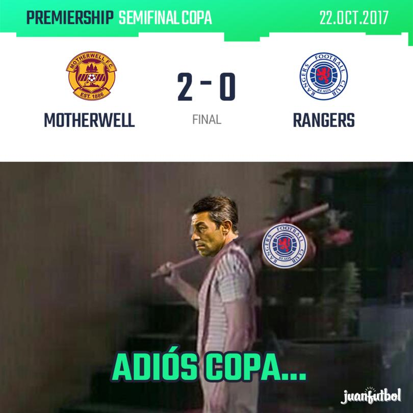 Motherwell vs. Rangers