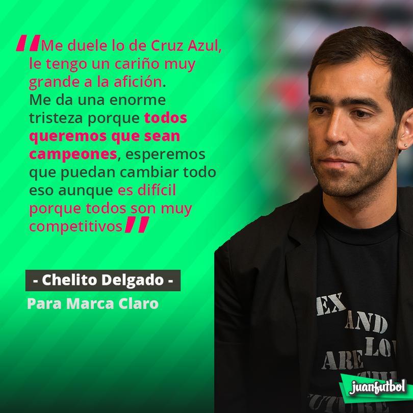 Al Chelito le gustaría ver campeón al  Cruz Azul