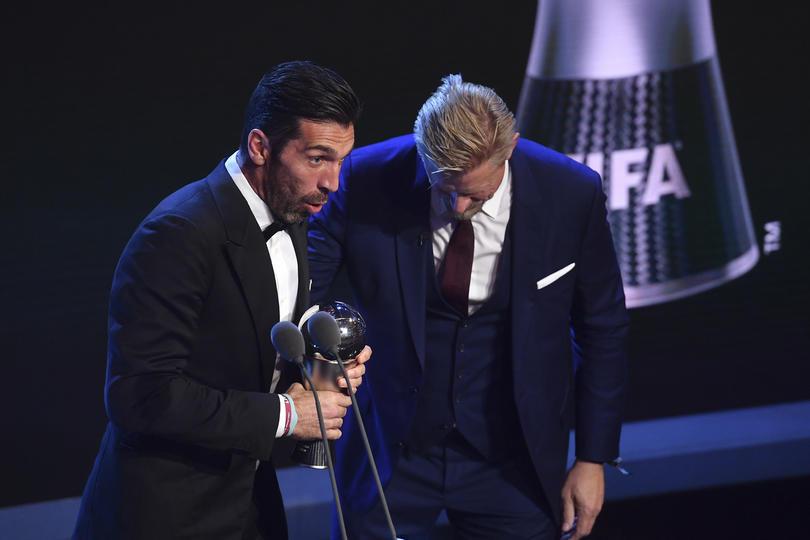 Gigi ganó el premio de mejor portero del mundo