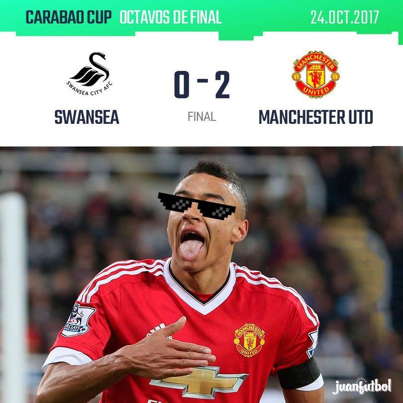 Manchester United ganó al Swansea