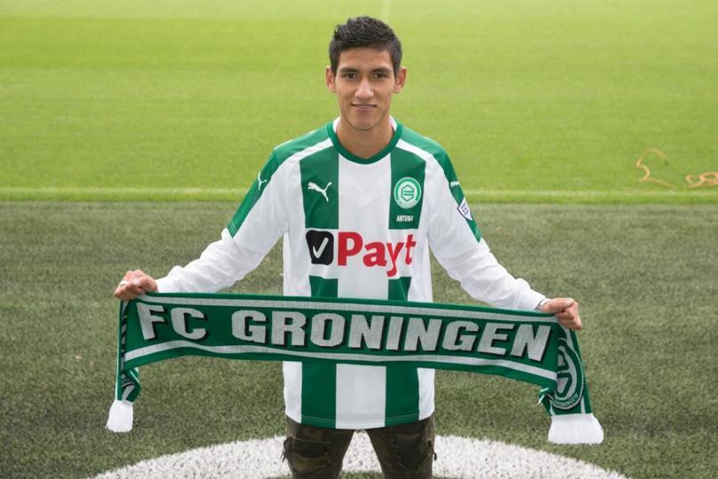 Antuna con el Groningen