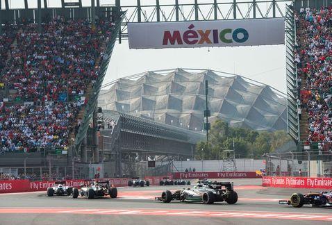 Gran Premio de F1 en México.