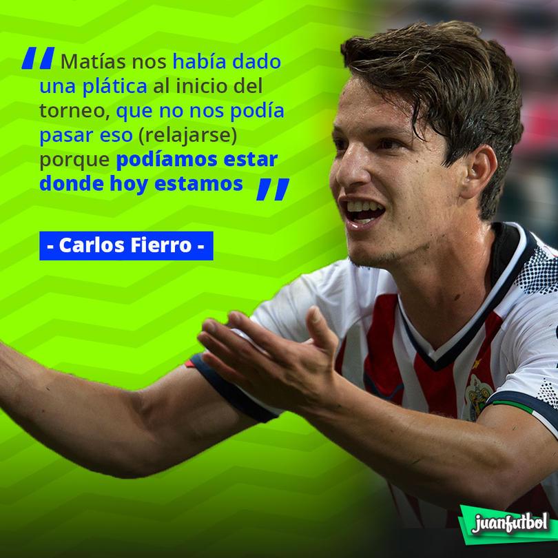 Palabras de Carlos Fierro