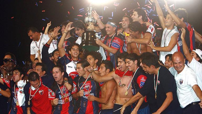 Atlante campeón en 2007.