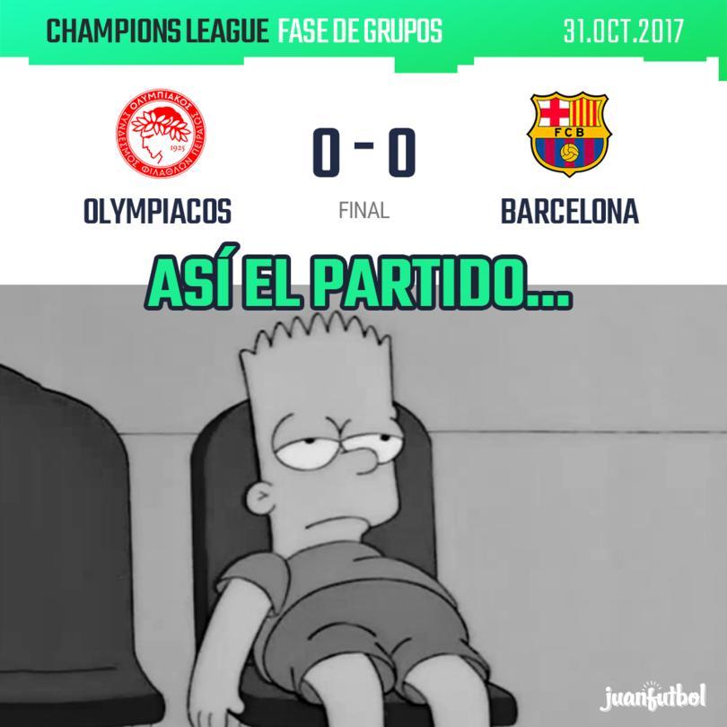 Olympiacos vs. Barcelona
