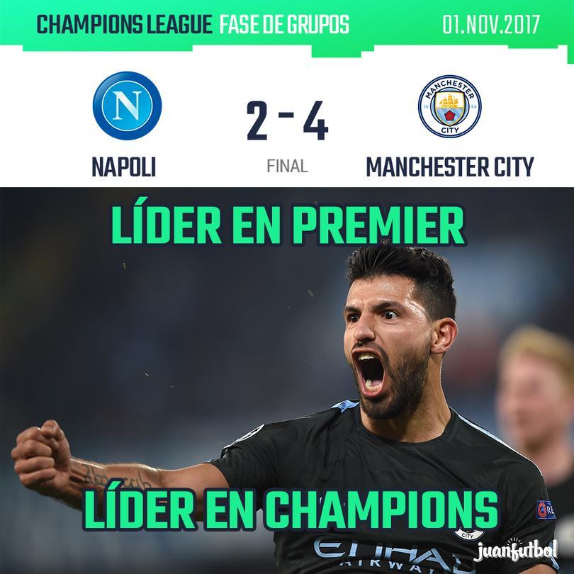 Man City vs Napoli.