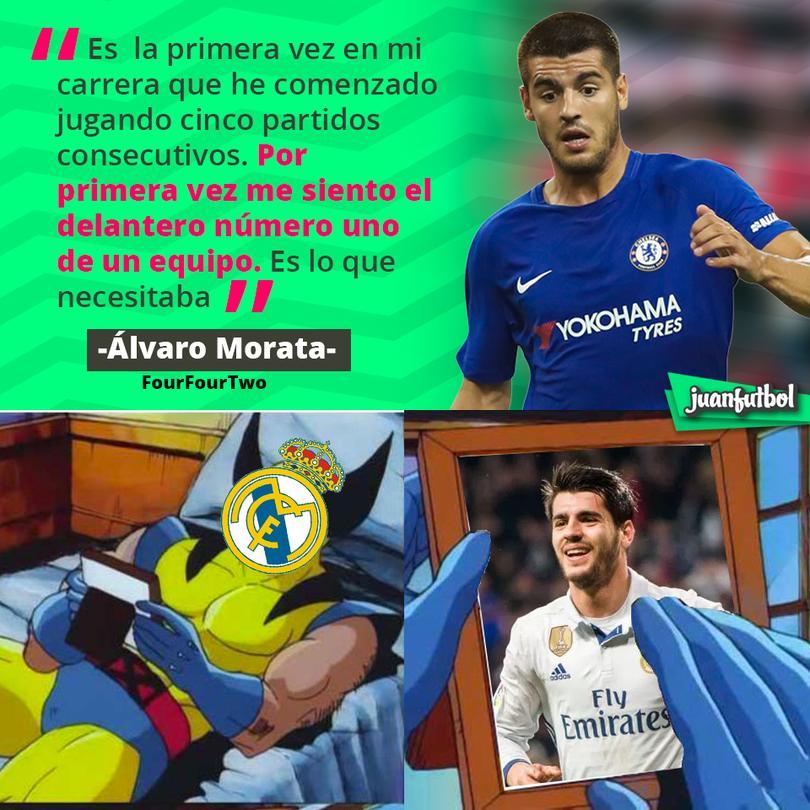 Morata se siente querido en el Chelsea