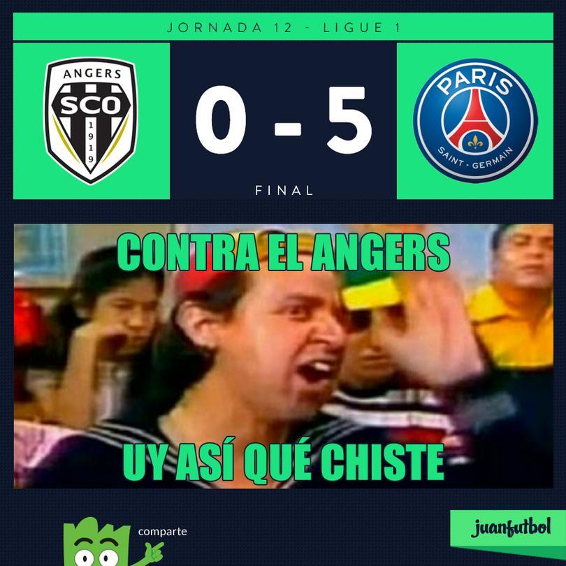 Cavani con su doblete, superó los 100 goles en la Ligue 1