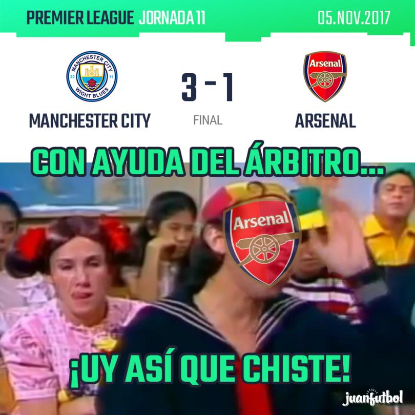 Manchester City 3 - Arsenal 1